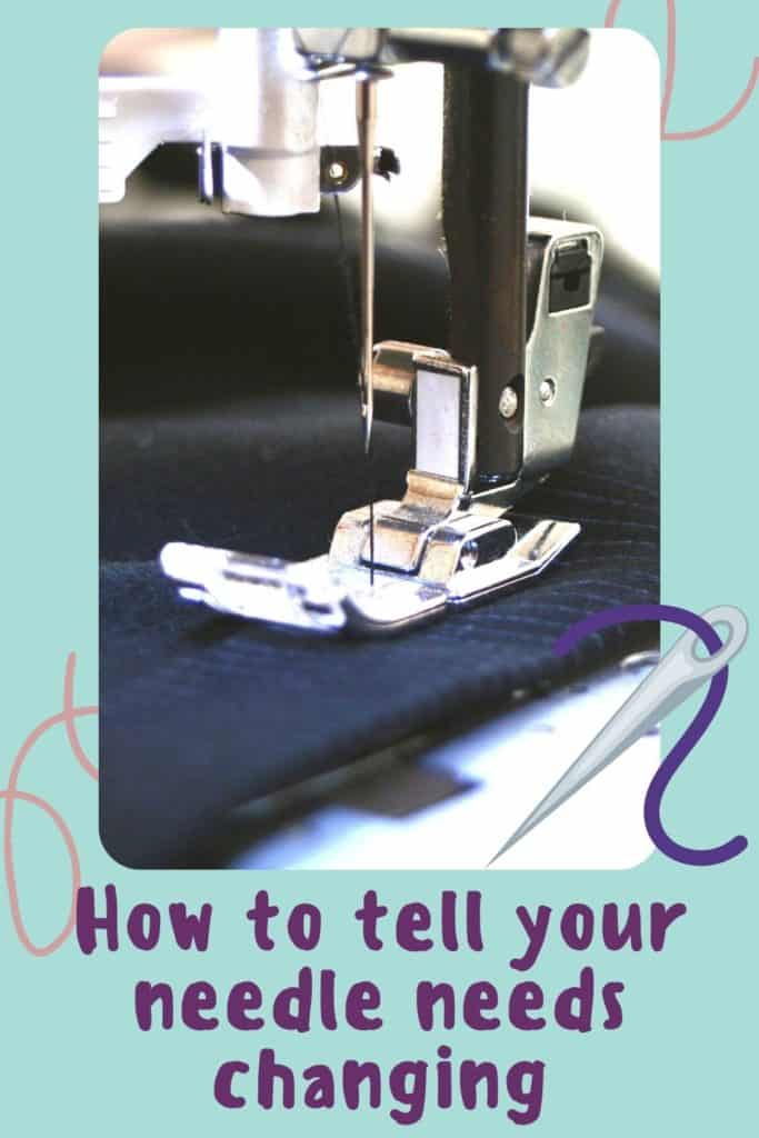 Everything you need to know about sewing machine needles including what the numbers and colors mean on the needle, how, when and why to replace the needle in your sewing machine, and the different types of sewing machine needle, and when you would use them. A complete sewing needle 101 list of questions answered for sewing beginners.