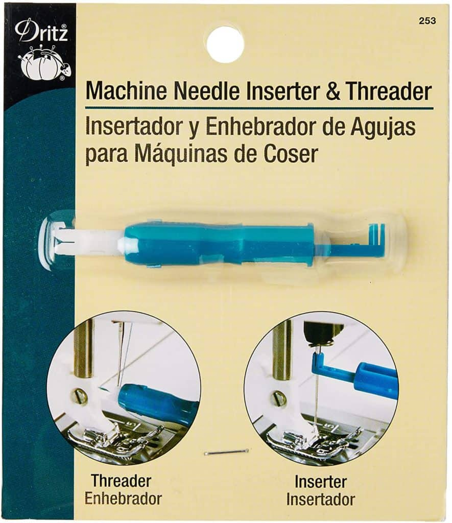 Recommended tool to easily change and replace sewing machine needles