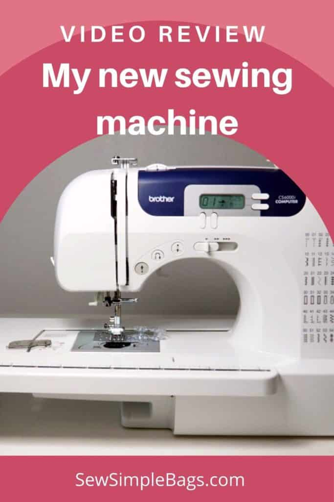 Image of the Brother CS6000i sewing machine.