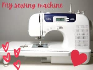 My new Brother CS6000i sewing machine – video review